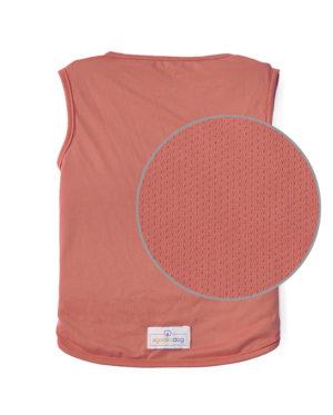 Roupa para cachorros Camiseta Dry Fit – Coral