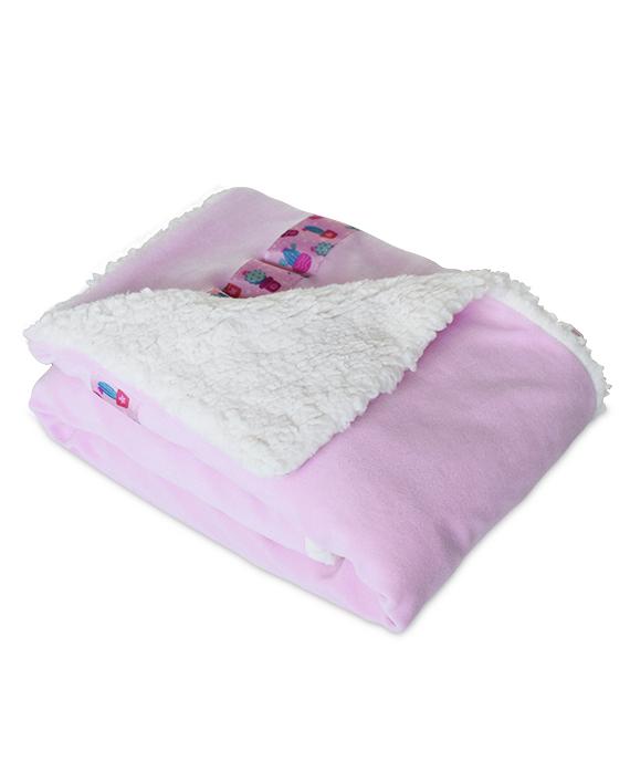 cobertor para cachorro rosa