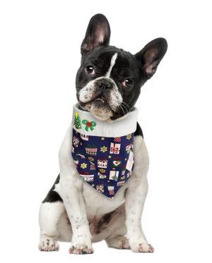 Bandana de Natal para cachorro Presentes – Azul